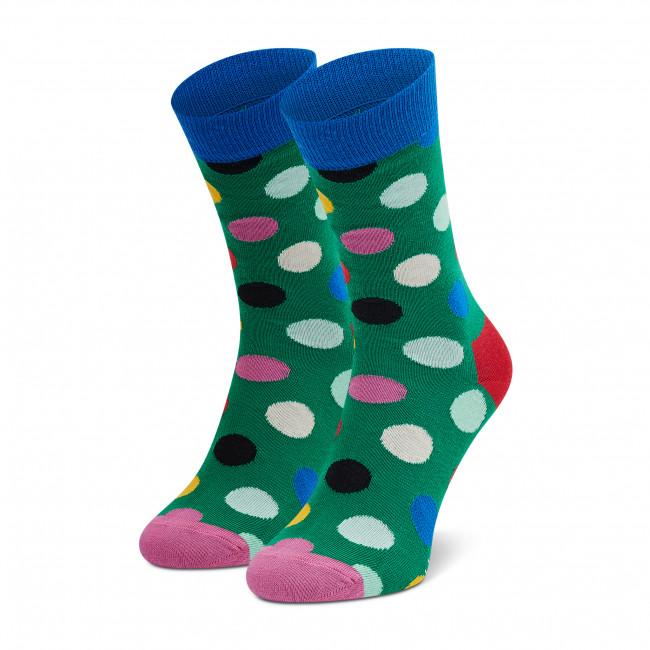 Ponožky Vysoké Dámske HAPPY SOCKS - BDO01-0100 Zelená