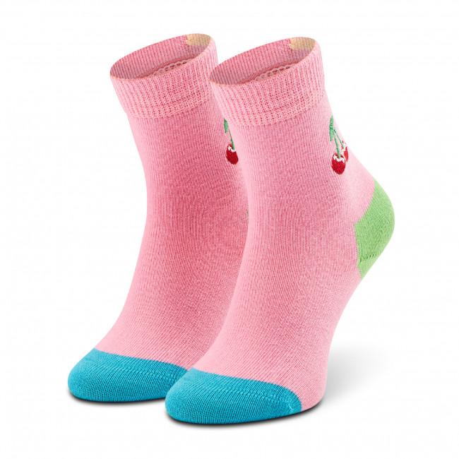 Ponožky Vysoké Detské HAPPY SOCKS - KBECH01-3300 Ružová