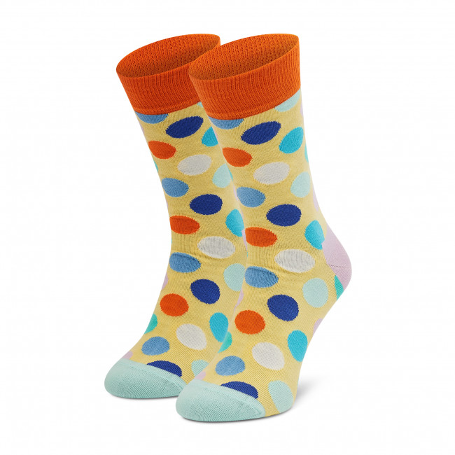 Ponožky Vysoké Pánske HAPPY SOCKS - BDO01-2201 Žltá