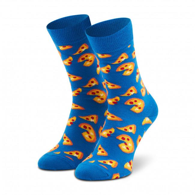 Ponožky Vysoké Unisex HAPPY SOCKS - SPIZ01-6300 Modrá