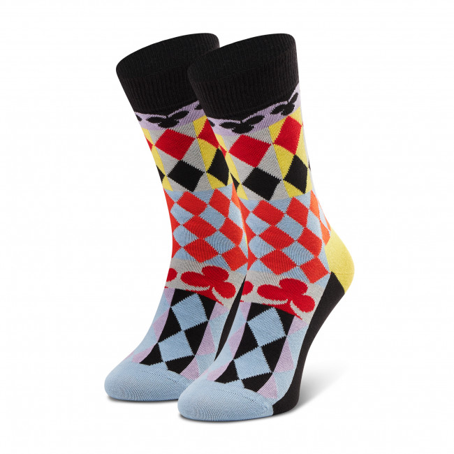 Ponožky Vysoké Unisex HAPPY SOCKS - ABC01-9300 Farebná