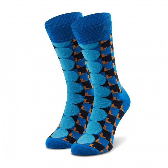 Ponožky Vysoké Unisex HAPPY SOCKS - ABJ01-6300 Modrá