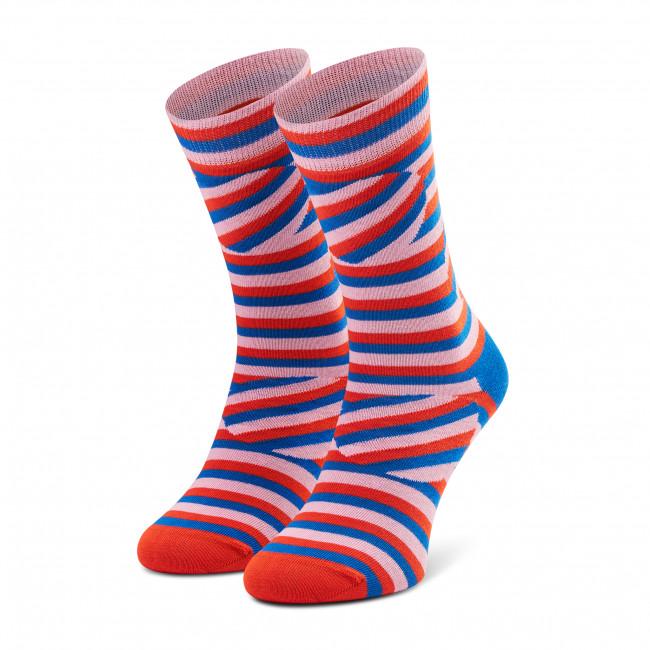 Ponožky Vysoké Unisex HAPPY SOCKS - ABS01-3300 Farebná
