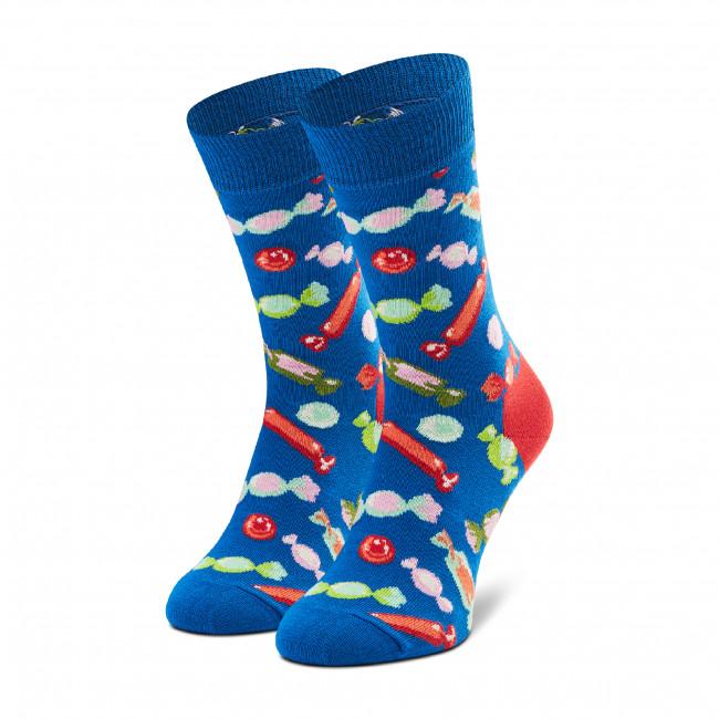 Ponožky Vysoké Unisex HAPPY SOCKS - CAN01-6300 Modrá