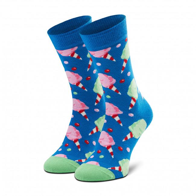 Ponožky Vysoké Unisex HAPPY SOCKS - CCA01-6300 Modrá