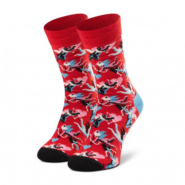 Ponožky Vysoké Unisex HAPPY SOCKS - CUP01-4300 Červená