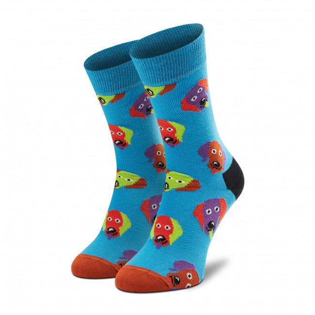 Ponožky Vysoké Unisex HAPPY SOCKS - DOG01-6700 Modrá