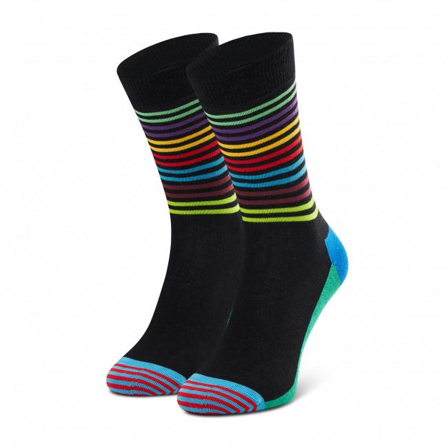 Ponožky Vysoké Unisex HAPPY SOCKS - HAS01-9300 Farebná