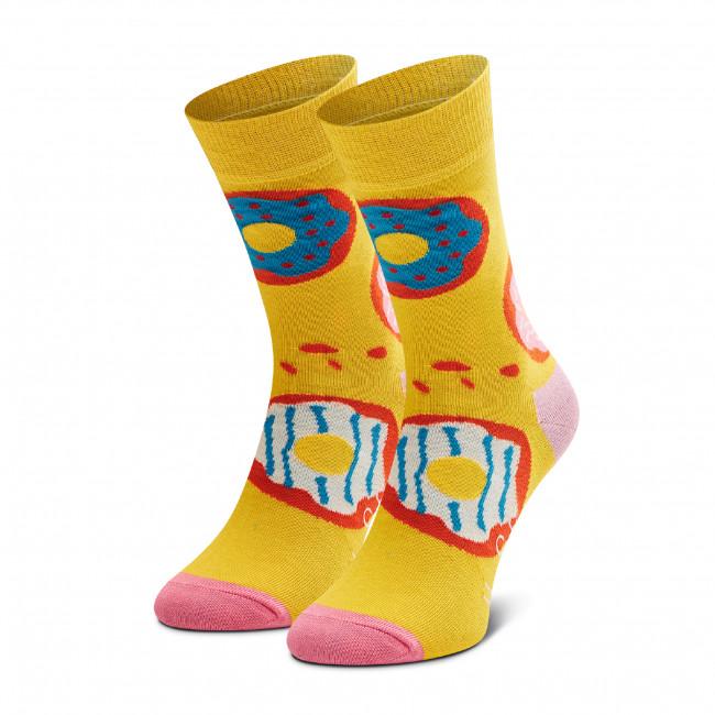 Ponožky Vysoké Unisex HAPPY SOCKS - JDO01-2200 Žltá