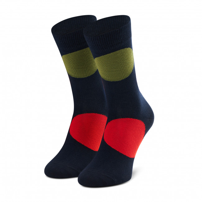 Ponožky Vysoké Unisex HAPPY SOCKS - JUB01-6550 Farebná