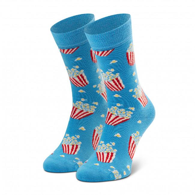 Ponožky Vysoké Unisex HAPPY SOCKS - POP01-6300 Modrá