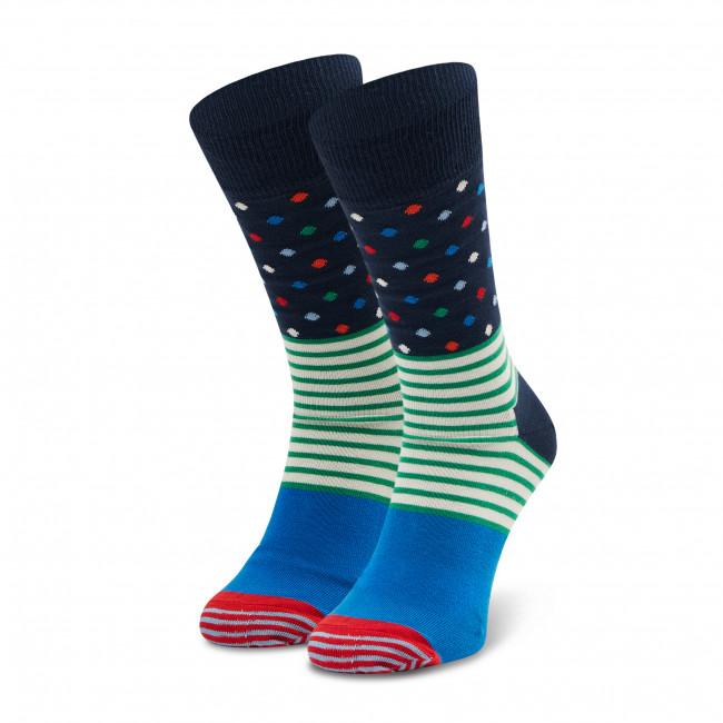 Ponožky Vysoké Unisex HAPPY SOCKS - SDO01-6600 Farebná