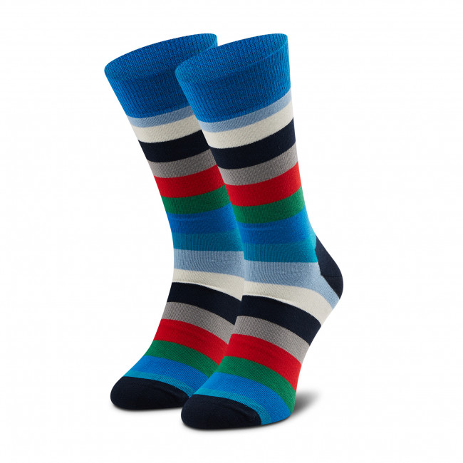 Ponožky Vysoké Unisex HAPPY SOCKS - STR01-6400 Farebná