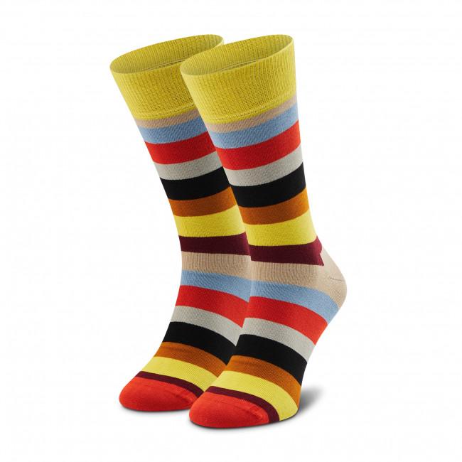 Ponožky Vysoké Unisex HAPPY SOCKS - STR01-8300 Farebná