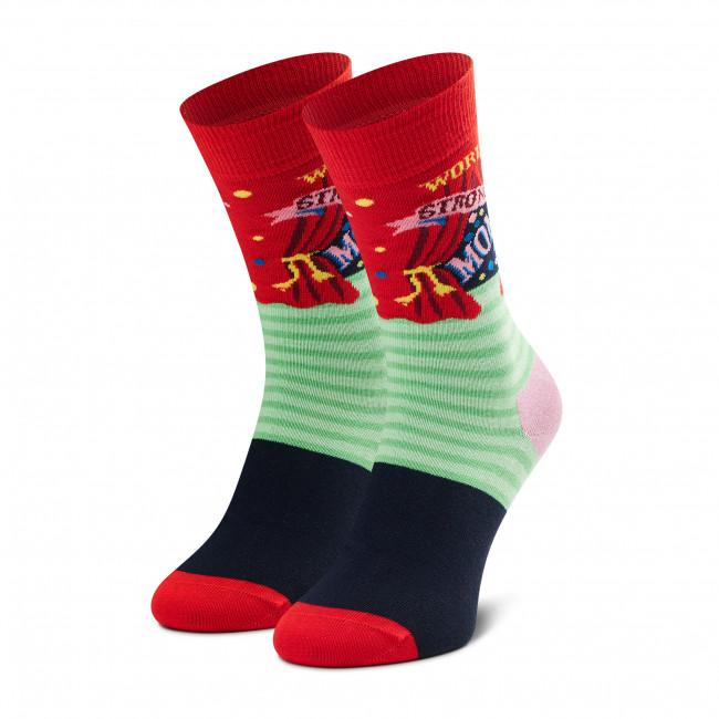 Ponožky Vysoké Unisex HAPPY SOCKS - WSM01-4300 Farebná