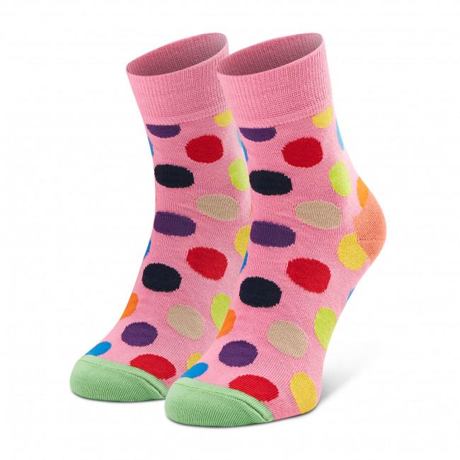 Ponožky Vysoké Dámske HAPPY SOCKS - BDO13-3300 Ružová