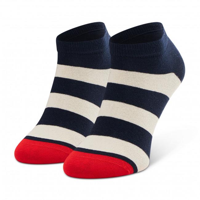 Ponožky Kotníkové Unisex HAPPY SOCKS - BDS02-6500 Čierna