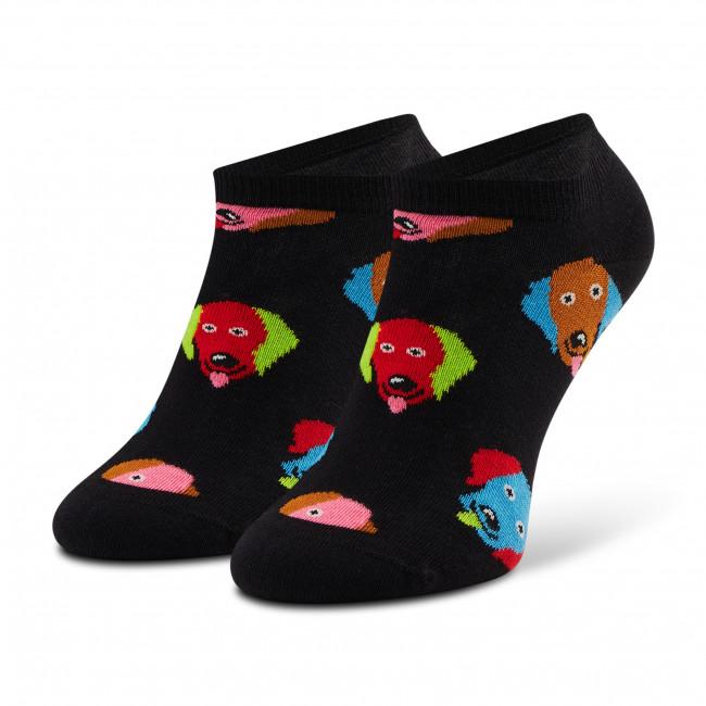 Ponožky Kotníkové Unisex HAPPY SOCKS - DOG05-9300 Čierna
