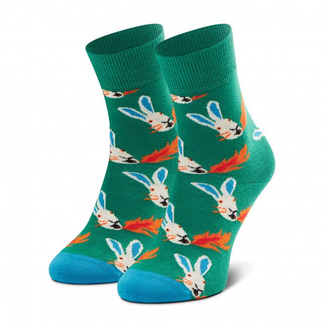 Ponožky Vysoké Unisex HAPPY SOCKS - FRA13-7300 Zelená