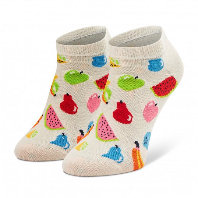 Ponožky Kotníkové Dámske HAPPY SOCKS - FRU05-1300 Béžová