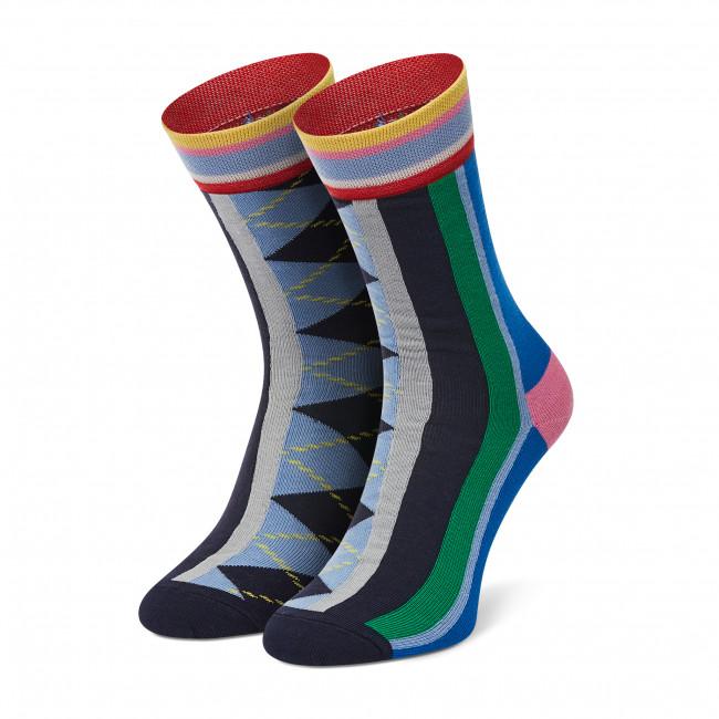 Ponožky Vysoké Dámske HAPPY SOCKS - HAY01-6300 Farebná