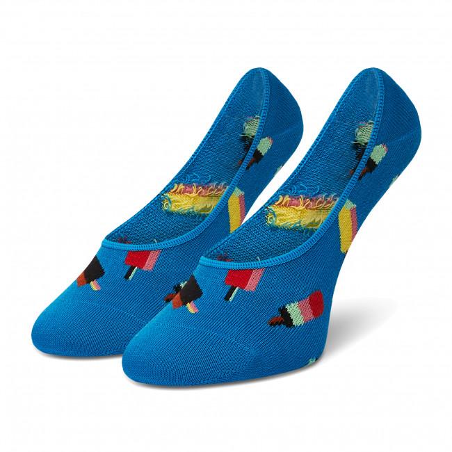 Ponožky Krátke Dámske HAPPY SOCKS - ICE06-6700 Modrá