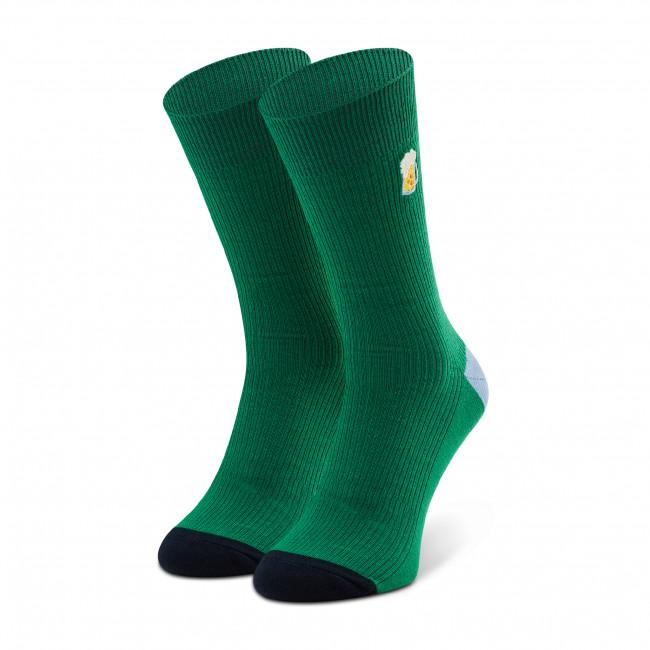 Ponožky Vysoké Unisex HAPPY SOCKS - REBEE01-7300 Zelená