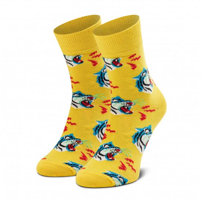 Ponožky Vysoké Unisex HAPPY SOCKS - TIG13-2200 Žltá