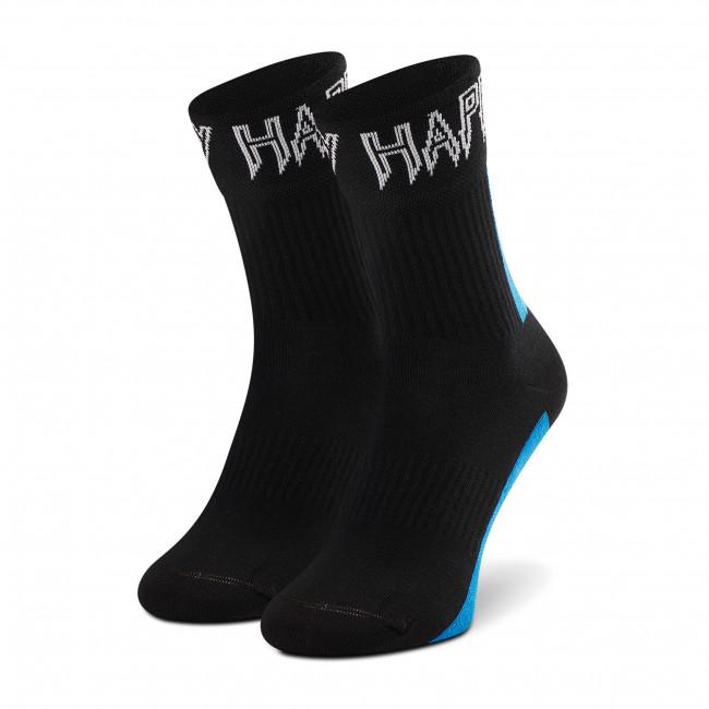 Ponožky Vysoké Unisex HAPPY SOCKS - ATCOS14-9300 Čierna