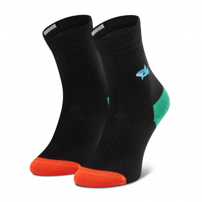Ponožky Vysoké Detské HAPPY SOCKS - KBESH01-9000 Čierna