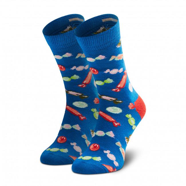 Ponožky Vysoké Detské HAPPY SOCKS - KCAN01-6300 Tmavo modrá