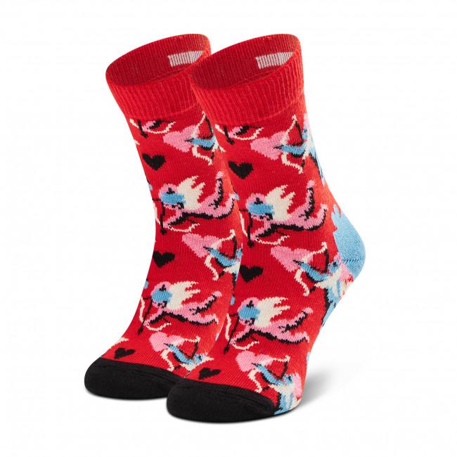 Ponožky Vysoké Detské HAPPY SOCKS - KCUP01-4300  Červená