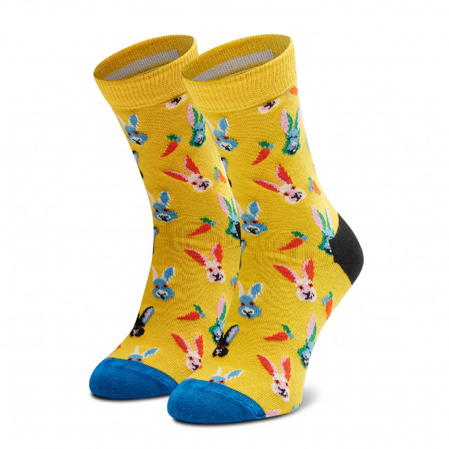 Ponožky Vysoké Detské HAPPY SOCKS - KEAB01-2200 Žltá