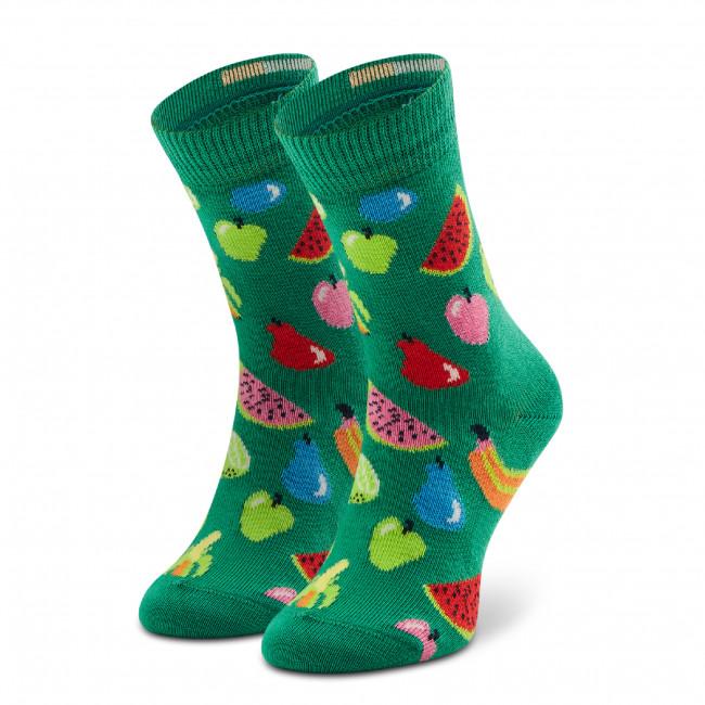 Ponožky Vysoké Detské HAPPY SOCKS - KFRU01-7300 Zelená