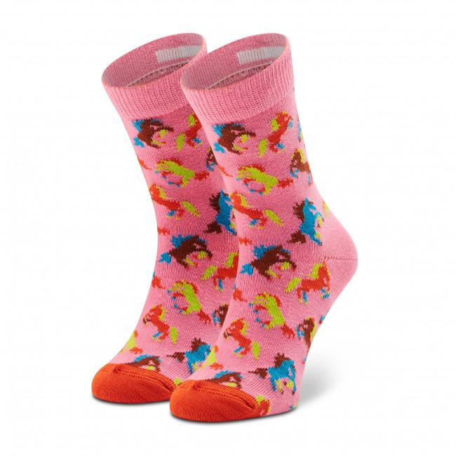Ponožky Vysoké Detské HAPPY SOCKS - KHRS01-3300 Ružová