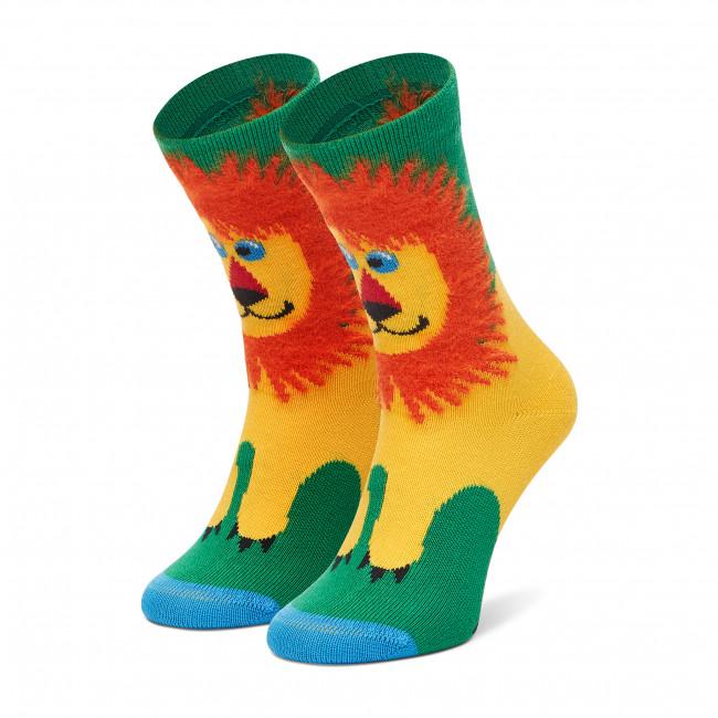 Ponožky Vysoké Detské HAPPY SOCKS - KLIO01-0200 Farebná