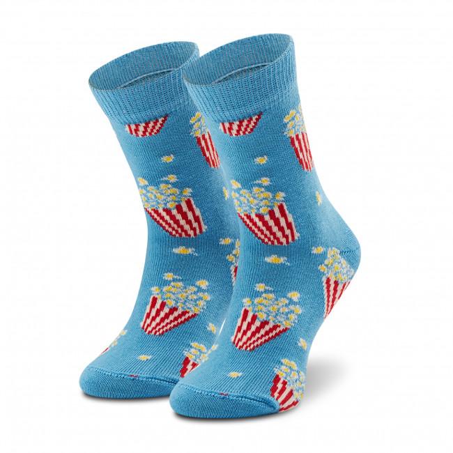 Ponožky Vysoké Detské HAPPY SOCKS - KPOP01-6000 Modrá