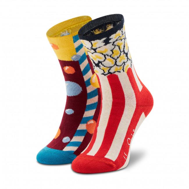 Ponožky Vysoké Detské HAPPY SOCKS - KPOS01-0200 Farebná
