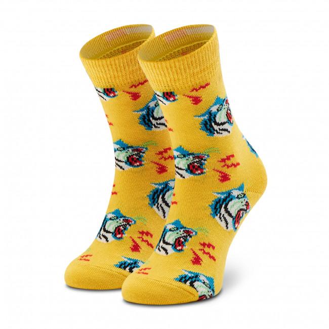 Ponožky Vysoké Detské HAPPY SOCKS - KTIG01-2200 Žltá