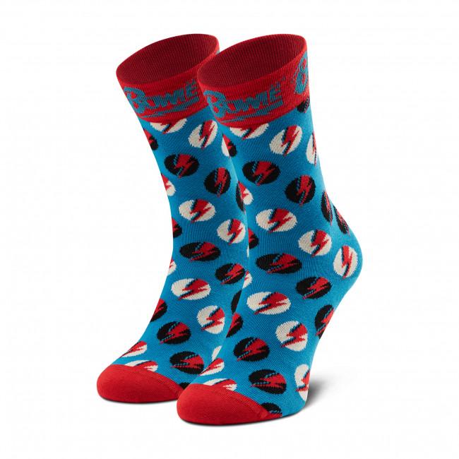 Ponožky Vysoké Unisex HAPPY SOCKS - BOW01-6300 Farebná Modrá
