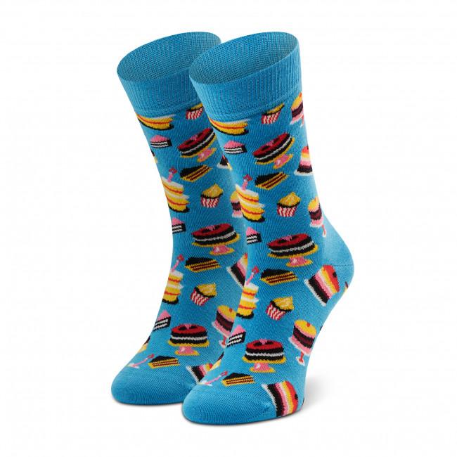Ponožky Vysoké Unisex HAPPY SOCKS - BCA01-6000 Modrá