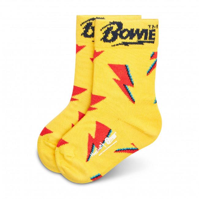 Ponožky Vysoké Detské HAPPY SOCKS - KBOW01-2200 Žltá