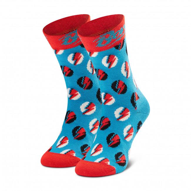 Ponožky Vysoké Detské HAPPY SOCKS - KBOW01-6300  Modrá
