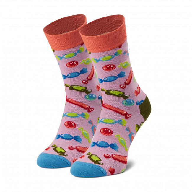 Ponožky Vysoké Dámske HAPPY SOCKS - XBON01-3300 Farebná Ružová