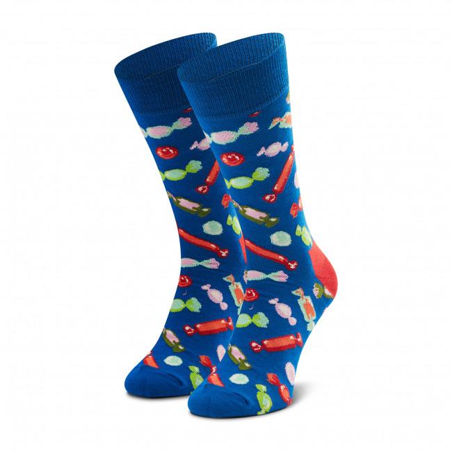 Ponožky Vysoké Pánske HAPPY SOCKS - XBON01-6300 Modrá