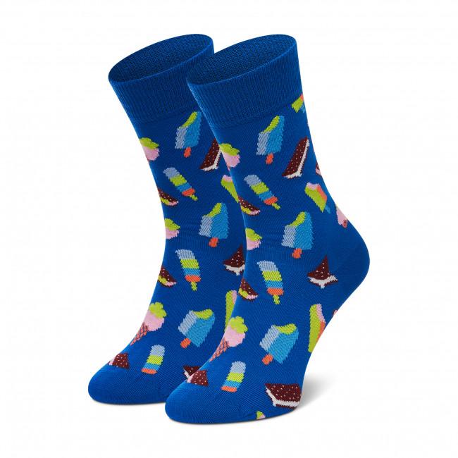 Ponožky Vysoké Unisex HAPPY SOCKS - XICE01-6300  Modrá