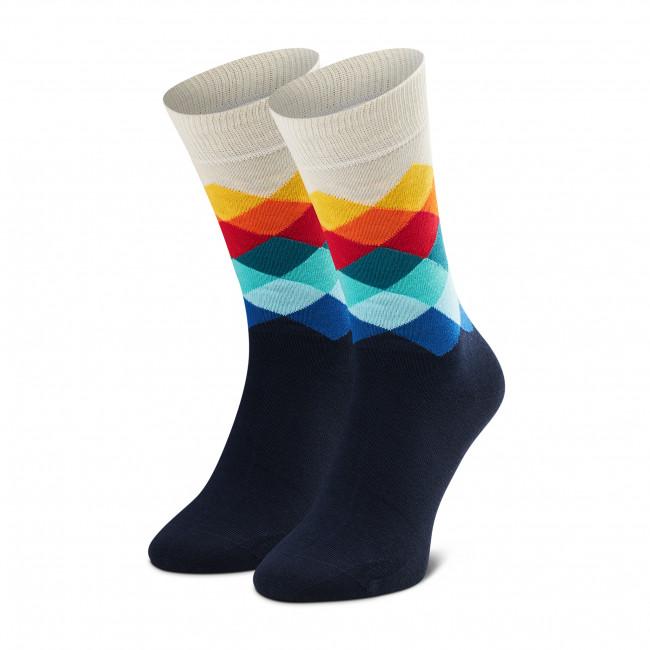Ponožky Vysoké Unisex HAPPY SOCKS - FD01-105 Farebná