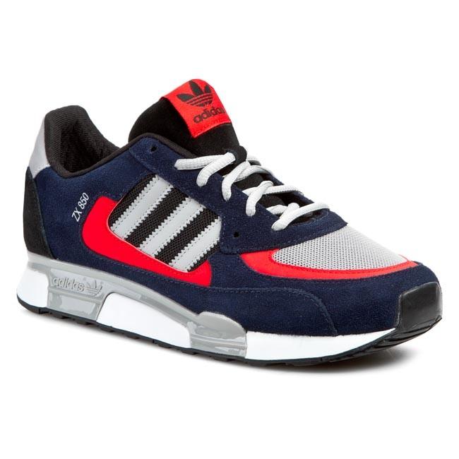 31d87a4337d43 Topánky adidas - ZX 850 B34763 Conavy/Mgsogr/Cblack - Sneakersy ...