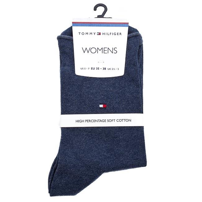 Ponožky Vysoké Dámske TOMMY HILFIGER - 443029001 Jeans 356