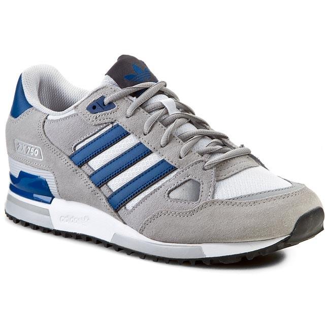 702d0d09576d8 Topánky adidas - ZX 750 B39988 Mgsogr/Dmarin/Lgsogr - Sneakersy ...